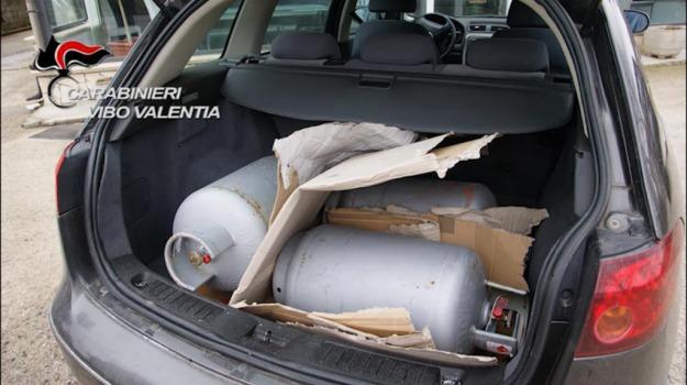autobomba, bombole gas, feroleto, Catanzaro, Calabria, Archivio
