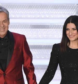 Sanremo: Pausini show, emozione Favino e Mannoia