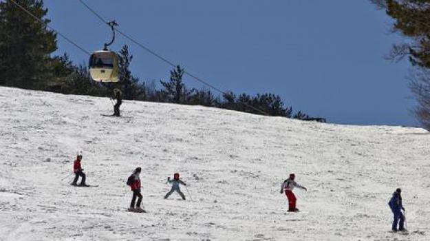aspromonte, calabria, neve, sci, sciare, sila, Catanzaro, Reggio, Cosenza, Calabria, Archivio