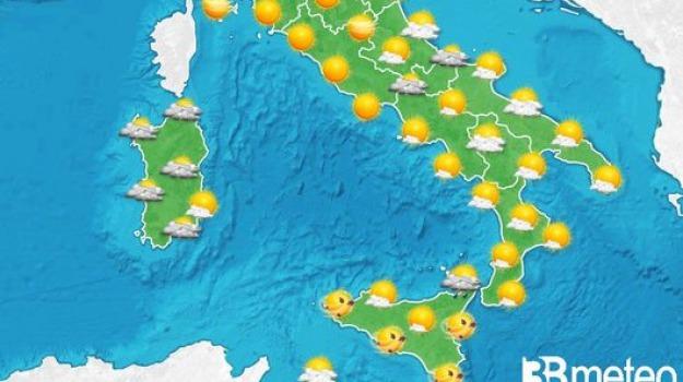 previsioni meteo, sicilia calabria, Catanzaro, Reggio, Cosenza, Messina, Archivio