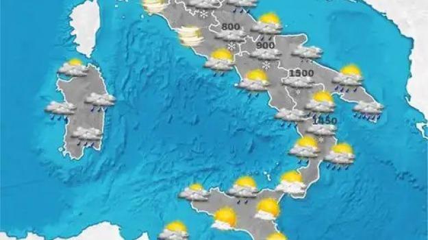 calabria, meteo, previsioni del tempo, sicilia, Catanzaro, Reggio, Cosenza, Archivio