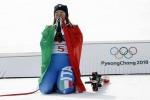 Sci azzurro in ansia per la Goggia, botta al malleolo della gamba per la campionessa olimpica