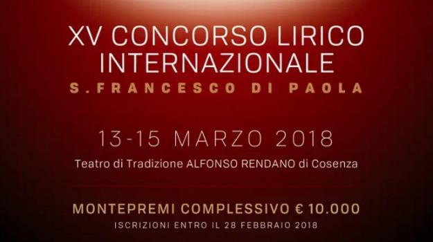 cosenza, lirica, premio internazionale, san francesco di paola, Cosenza, Archivio