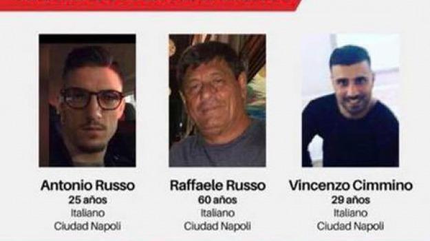 italiani, messico, scomparsi, Sicilia, Archivio, Cronaca