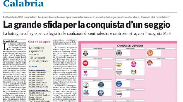 candidati, elezioni politiche, speciale, Catanzaro, Reggio, Cosenza, Calabria, Archivio