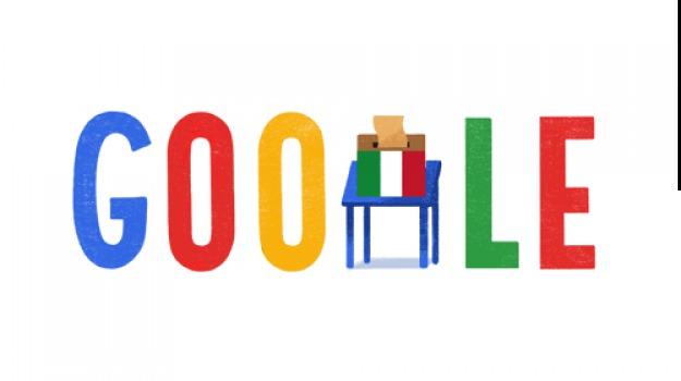 doodle, elezioni politiche, google, Sicilia, Archivio, Cronaca