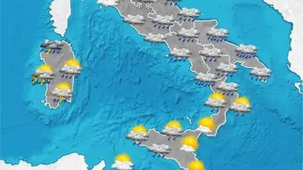 meteo, previsioni del tempo, Reggio, Cosenza, Messina, Calabria, Archivio