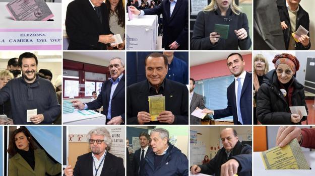 elezioni politiche, exit poll, Sicilia, Archivio