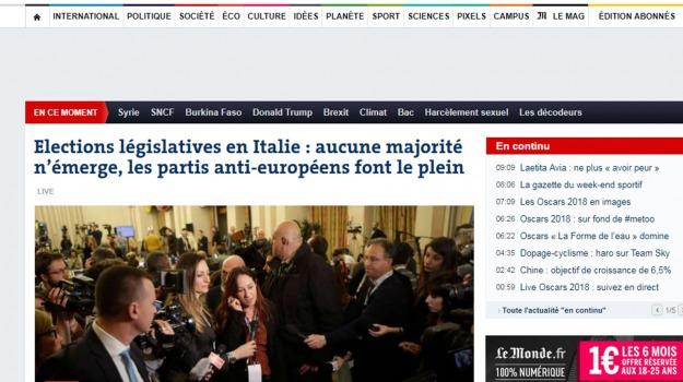 elezioni politiche, le monde, Sicilia, Archivio, Cronaca