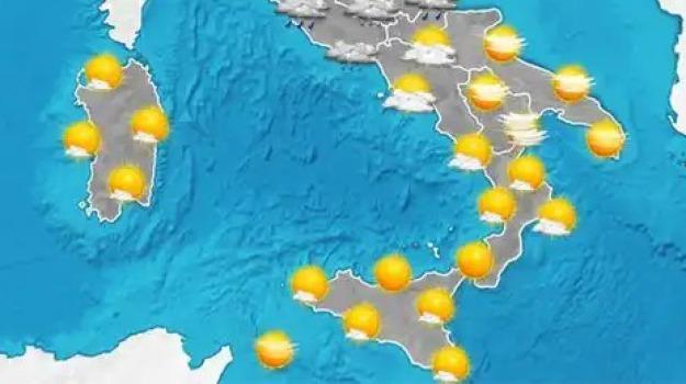 calabria, previsioni del tempo, sicilia, sud, Sicilia, Archivio