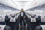 Laura Pausini hostess d'eccezione per Alitalia
