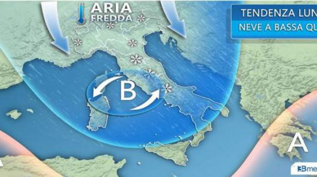 burian, freddo, gelo, meteo, previsioni del tempo, Sicilia, Archivio