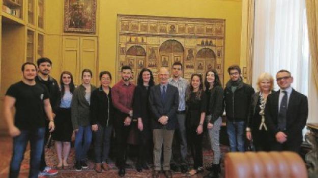 columbia law school, messina, studenti, Messina, Archivio