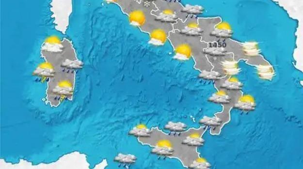 previsioni del tempo, Catanzaro, Reggio, Cosenza, Messina, Archivio