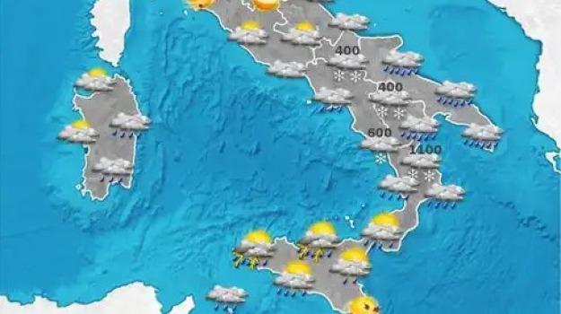 calabria, previsioni del tempo, sicilia, Catanzaro, Reggio, Cosenza, Messina, Archivio