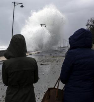 Forte vento e possibili mareggiate in Calabria
