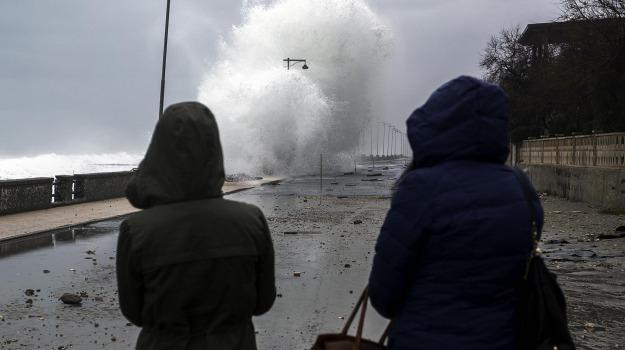 burrasca, calabria, mareggiate, meteo, vento, Calabria, Meteo