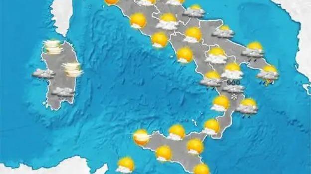 meteo, previsioni del tempo, Catanzaro, Reggio, Cosenza, Messina, Archivio
