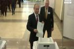 Putin vota all'Accademia delle Scienze