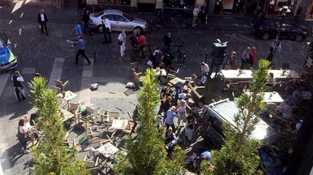 attentato, germania, muenster, terrorismo, Sicilia, Archivio, Cronaca