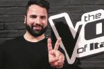 """Il tenore messinese Giovanni Saccà a """"The Voice"""""""