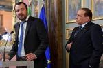 Rai e Amministrative, Salvini a colloquio con Berlusconi