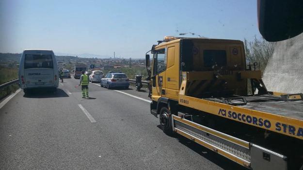 autostrada, incidente, messina-palermo, morto in autostrada, motociclo, Messina, Sicilia, Archivio