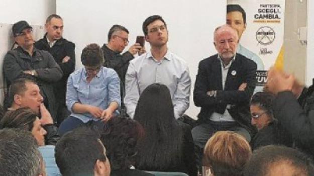 5 stelle, amministrative 2018, messina, sciacca, Messina, Politica