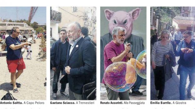 amministrative 2018, candidati sindaco, messina, Messina, Politica