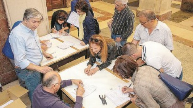 amministrative 2018, messina, scrutatori, Messina, Politica