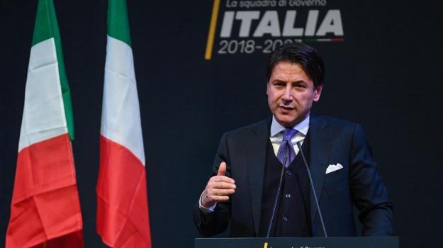 giuseppe conte, governo, lega, m5s, premier, Sicilia, Archivio, Cronaca
