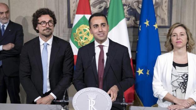 conte, di maio, governo, Sicilia, Archivio, Cronaca