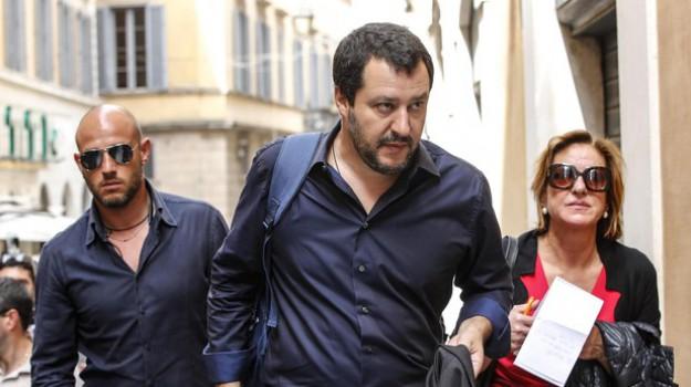 lega, tour salvini, Matteo Salvini, Sicilia, Politica