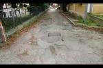 Mandalari, asfalto da rifare
