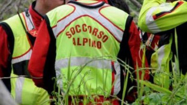 escursionista, reggio, san luca, soccorso alpino, Reggio, Calabria, Archivio