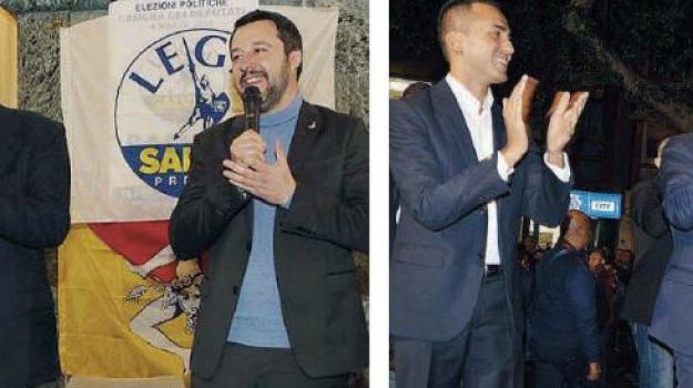 amministrative 2018, di maio, messina, salvini, Messina, Politica