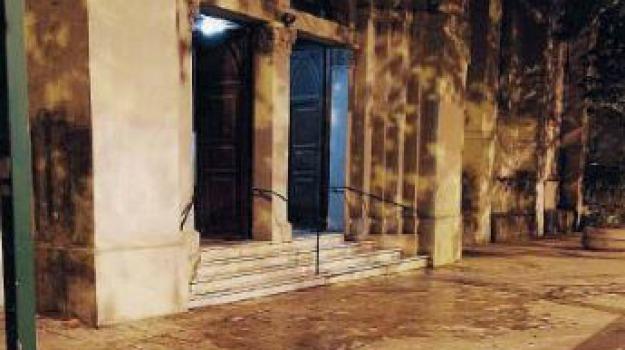 chiesa san giuliano, incendio, Messina, Sicilia, Archivio