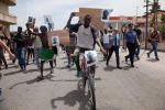 Migrante ucciso: gruppo di maliani in corteo