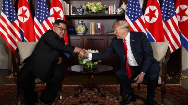 donald trump, Kim Jong, singapore, Sicilia, Archivio, Cronaca