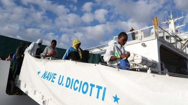 catania, migranti, neve diciotti, Sicilia, Archivio