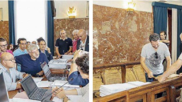 amministrative 2018, messina, palazzo zanca, schede elettorali, Messina, Politica