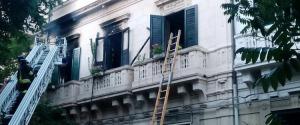 Messina. incendio in casa: morti due fratellini