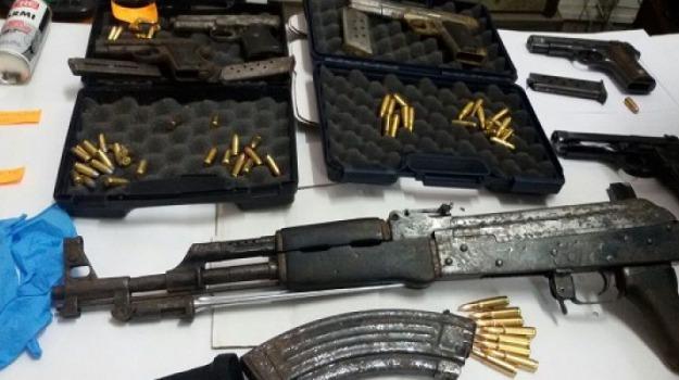 armi on line, enna, polizia, Sicilia, Archivio