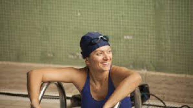 Cristina Guidi, sclerosi multipla, Traversata stretto Messina, Messina, Sicilia, Archivio