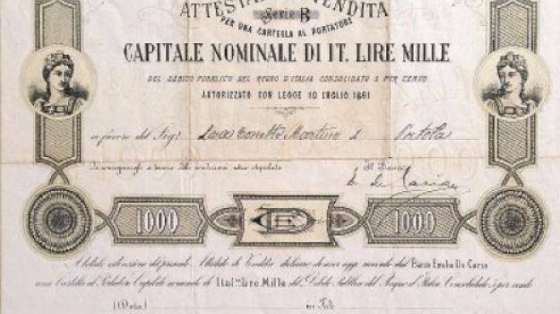 bot, cosenza, leopardititoli di stato, Cosenza, Calabria, Archivio