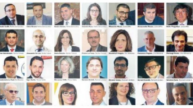 consiglio comunale, eletti, messina, Messina, Politica