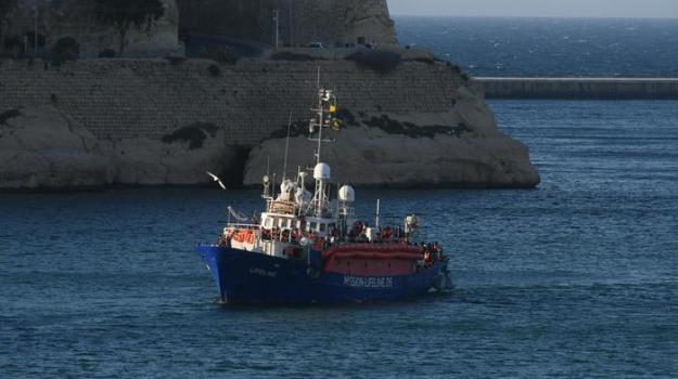 lifeline, malta, migranti, Sicilia, Archivio, Cronaca