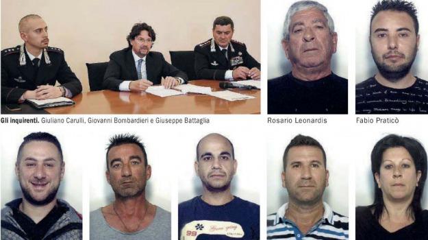 bagnara, banda, carabinieri, reggio, Reggio, Calabria, Archivio