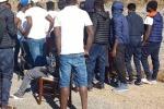 Nuova protesta dei migranti nel paese dell'accoglienza
