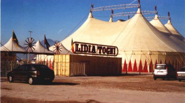 circo, lidia togni, Sicilia, Archivio